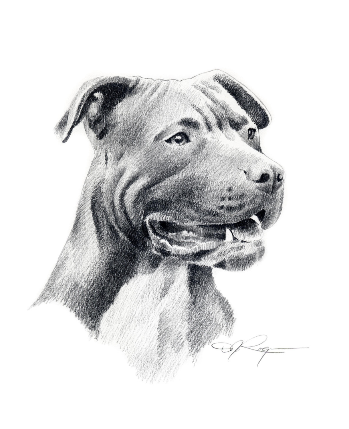 Drawn pitbull By Dog drawing Drawing Baby