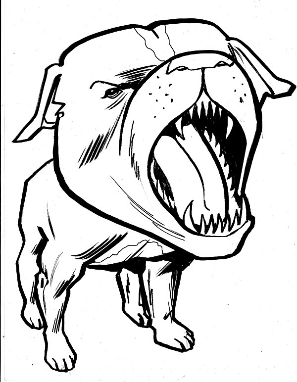 Pit Bull clipart tribal Download  pitbull Clip Cliparts
