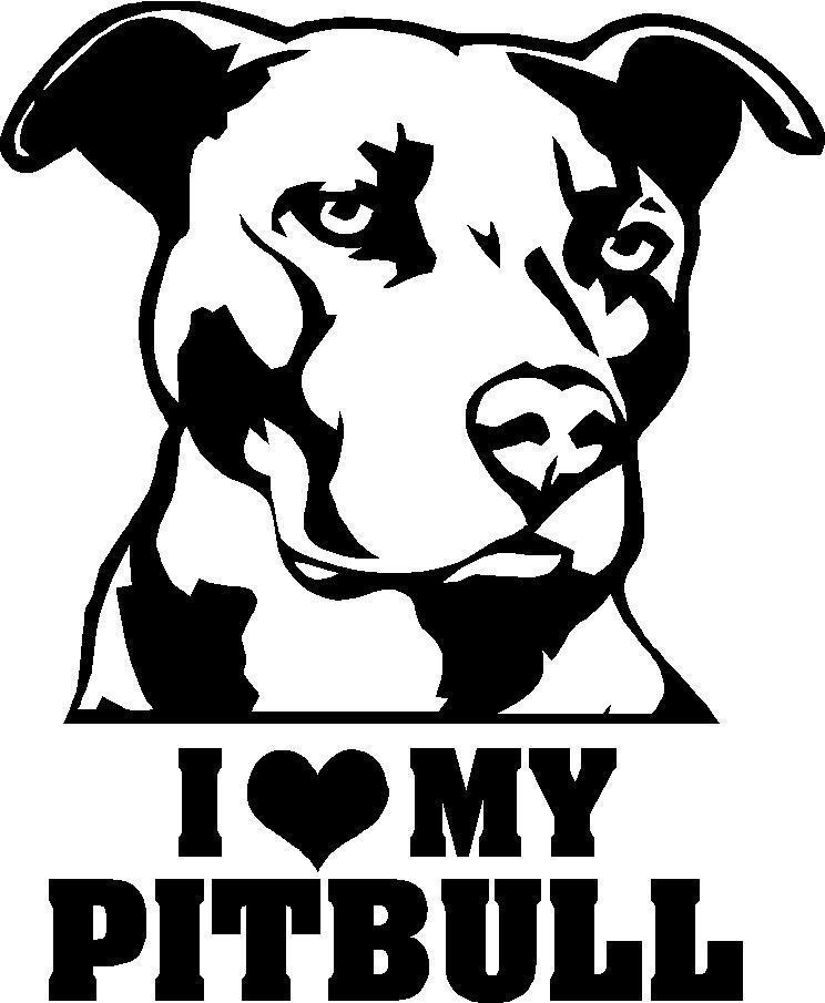 Pit Bull clipart tribal Dog cats Pinterest dog 2)