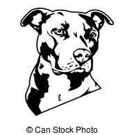 Pitbull clipart sketch Free keeps Images pictures