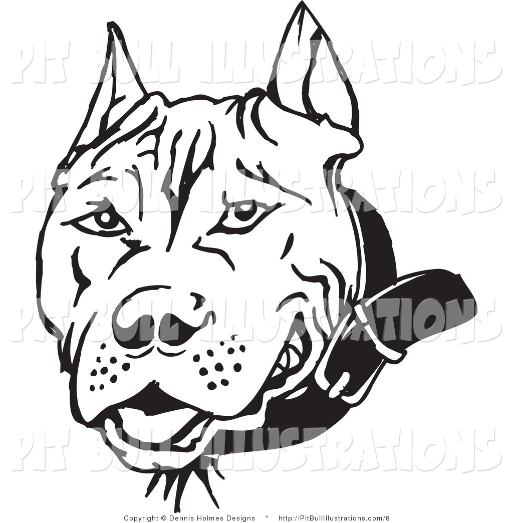 Pitbull clipart coloring page Pages IMAGIXS Coloring Art Clipart
