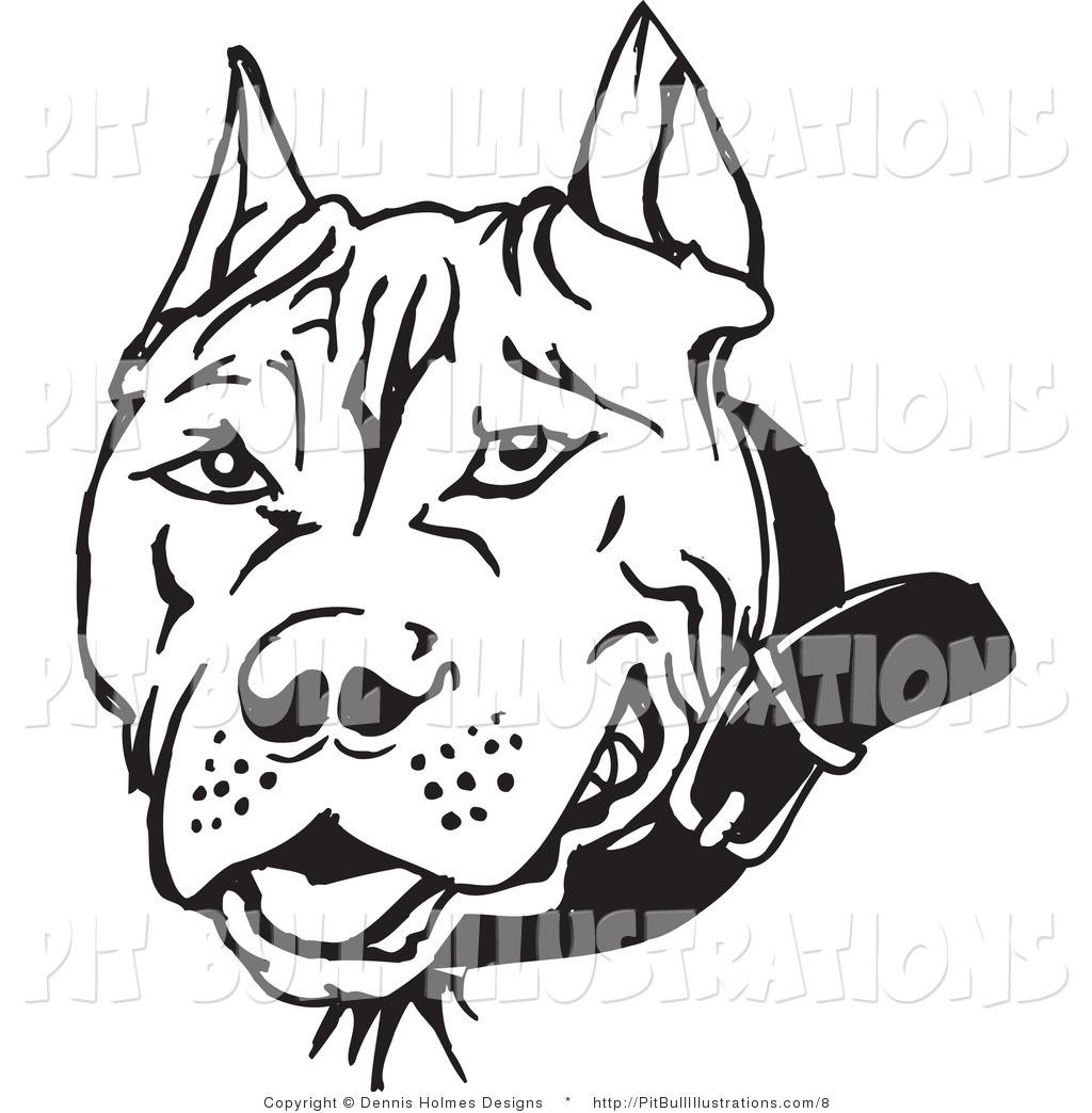 Pit Bull clipart american pitbull Bull Mean Clip Bull Head