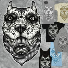 Drawn pitbull gangster Art de Drawings Drawing los