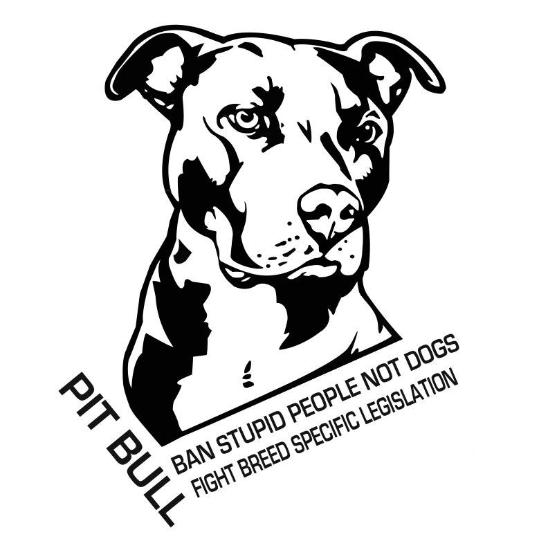 Pit Bull clipart black and white Dog Tribal  Pit Bull