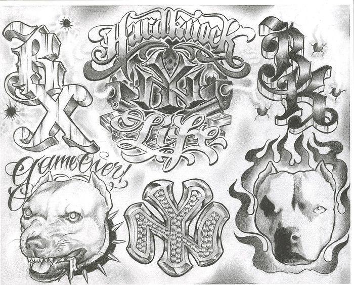Drawn pitbull gangster Chuck Best Pinterest Designs 25+