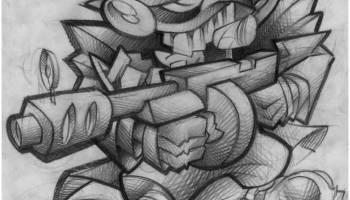 Drawn pitbull gangster Gangster Clown Latest Latest Tattoo