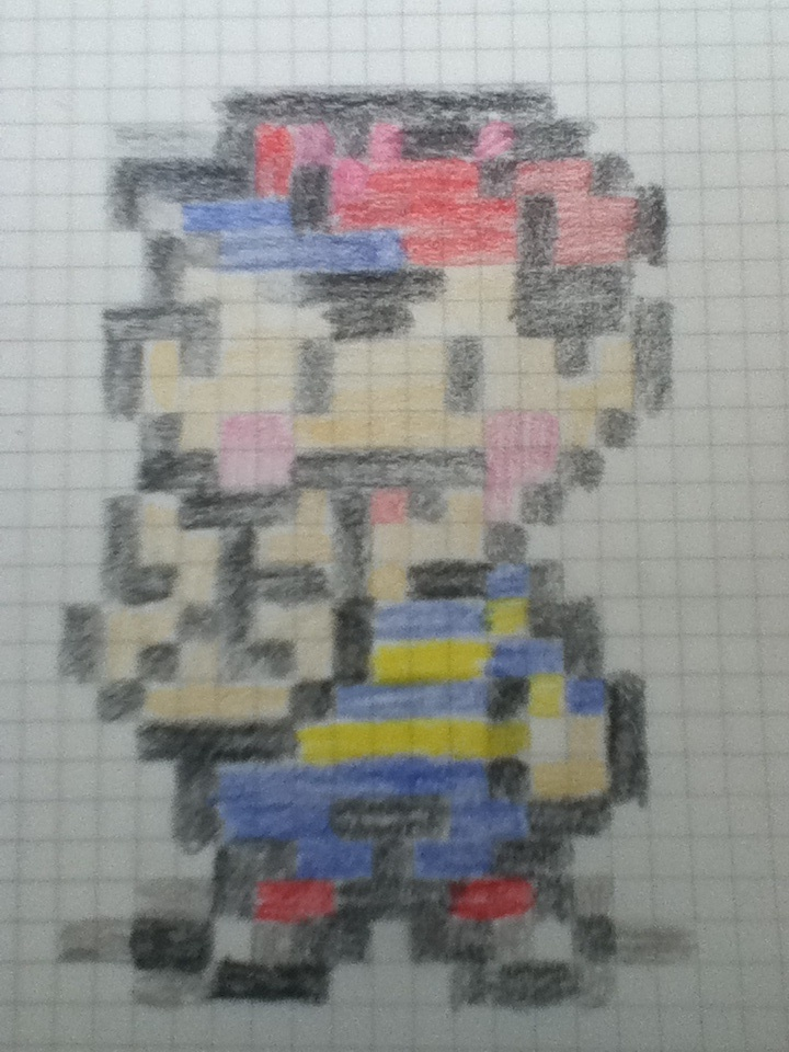 Drawn pixel art Hand PwnageDerp Pixel DeviantArt Art