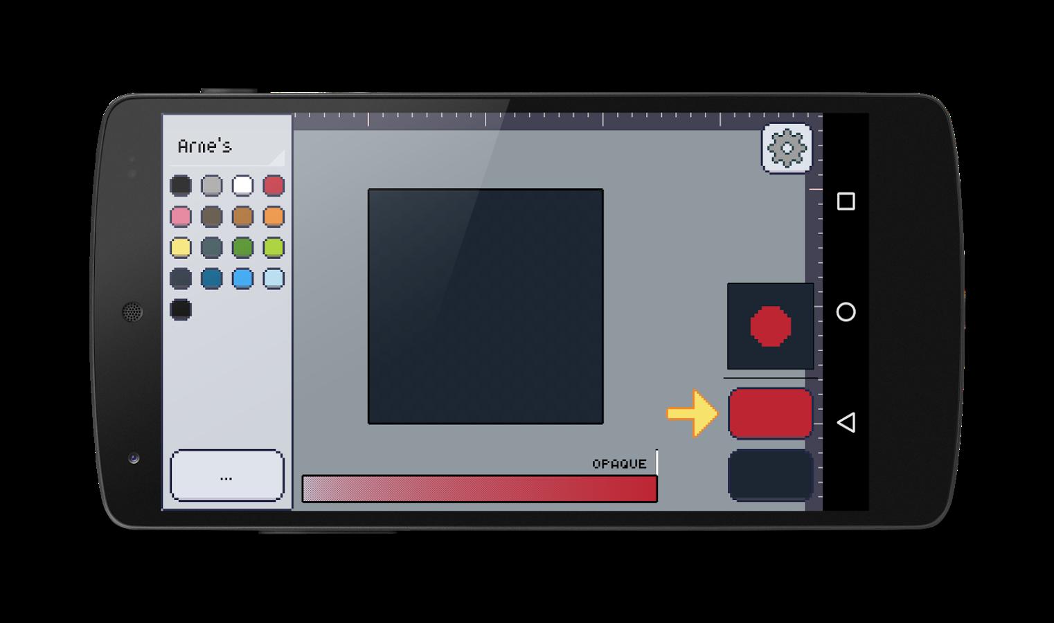Drawn pixel art 16 bit Pixly Android Pixly screenshot Play