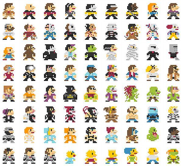 Drawn pixel art 16 bit About Super of Pinterest Bits