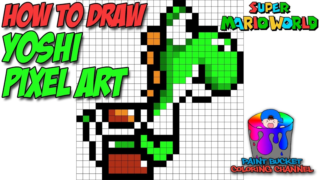 Drawn watch hand vector Mario Tutorial Art Yoshi 16