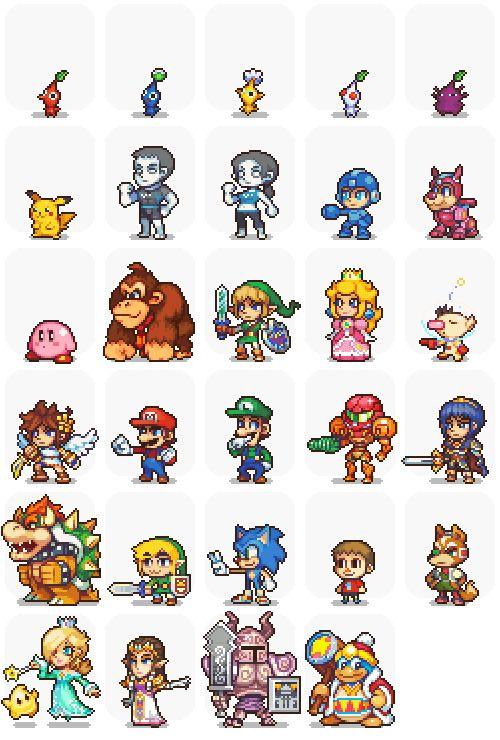 Drawn pixel art 16 bit Pinterest Find best on more