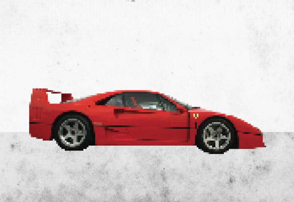 Drawn pixel art 16 bit Pixel Pixel Easy The Mosaic