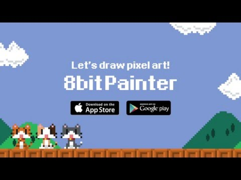 Drawn pixel art 32 bit  Apps Google Android Editor