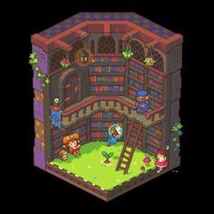 Drawn pixel art 32 bit Gif Library mari baki pixel