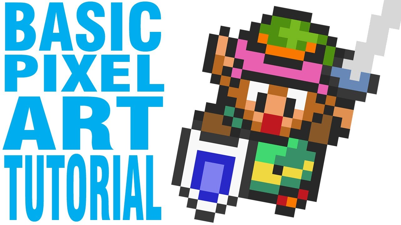 Drawn pixel art Art Tutorial:  Pixel YouTube