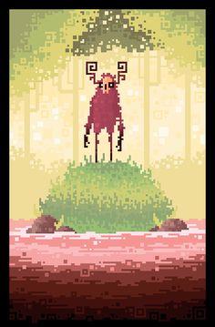 Drawn pixel art 8 bit Art been I've of away