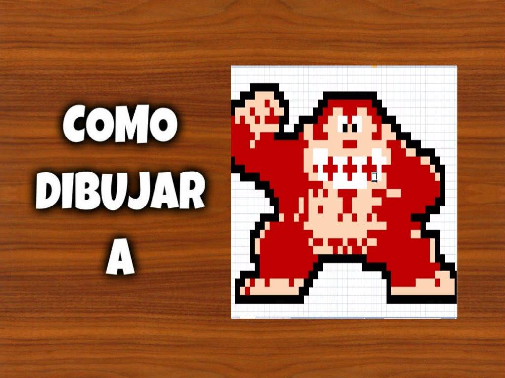 Drawn pixel art 8 bit Para A COMO Minecraft DIBUJAR