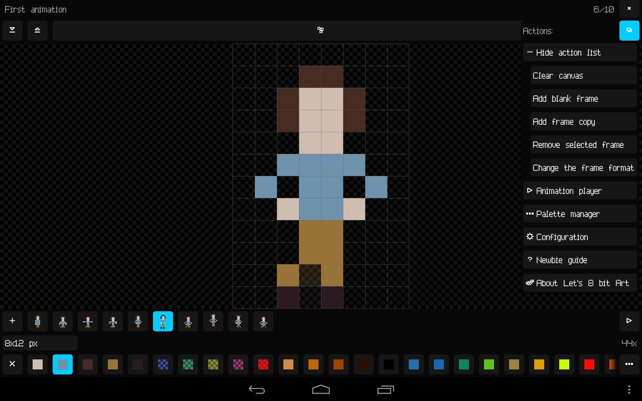 Drawn pixel art 8 bit Bit Let's Let's Play Art