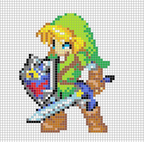 Drawn pixel art anime DeviantART ~Hama Girl on 25+