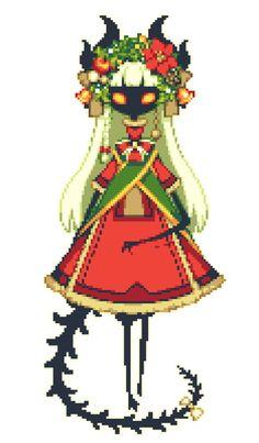 Drawn pixel art anime Art Spirited away art me