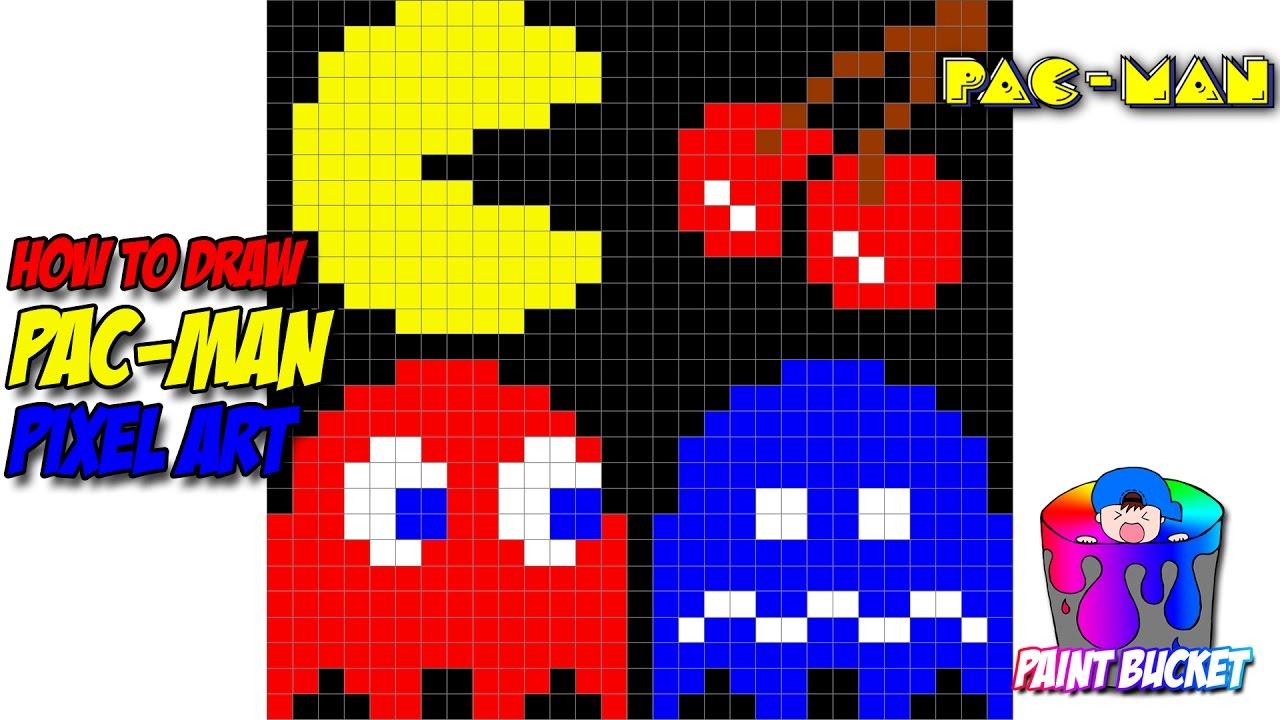 Drawn pixel art arcade Art Art Pac Pixel Pac