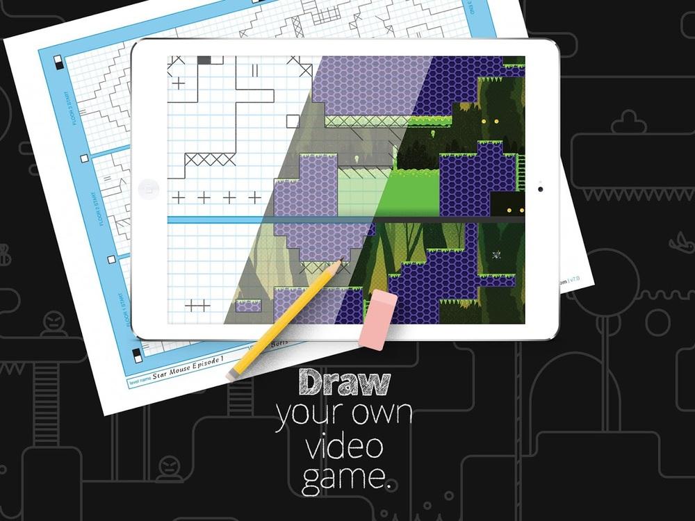 Drawn pixel art arcade Drawing! game by Pixel simply