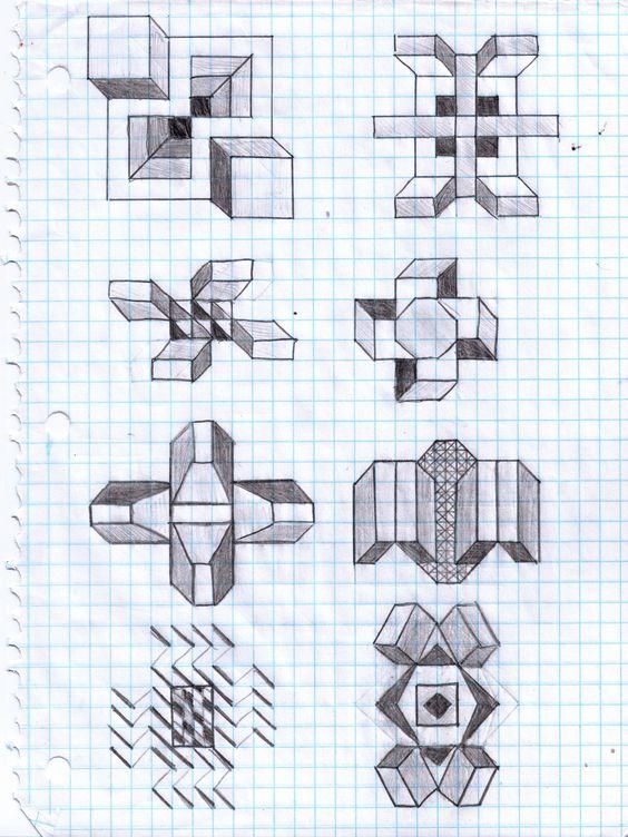 Drawn pixel art awesome Of Graph Paper Graph Art