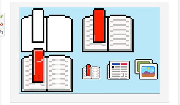 Drawn pixel art beginner Resources Photoshop pixel crafted And
