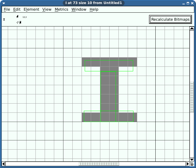 Drawn pixel art bitmap A or individual 10x10 game