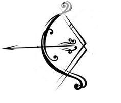 Drawn pixel art bow and arrow Bow dream Pinterest arrow Arrow