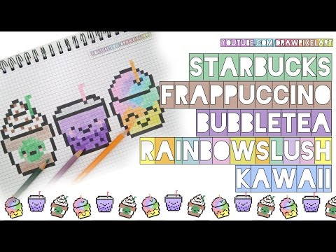 Drawn pixel art bubble Bubble slush how handmade draw