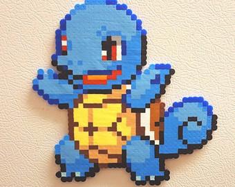 Drawn pixel art charmeleon 8 8 Squirtle Blastoise Pokemon