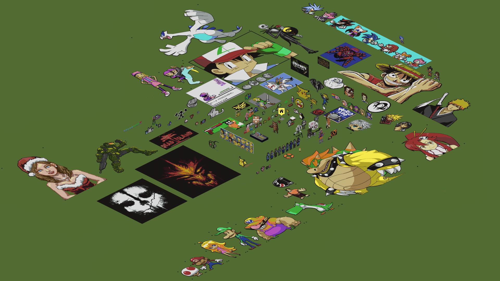 Drawn pixel art complex World DeviantArt Art luk01 on