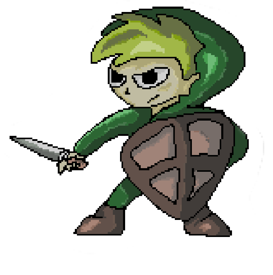 Drawn pixel art complex For  pixel patience! about