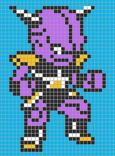 Drawn pixel art dbz Pattern Balls Z Dragon ·