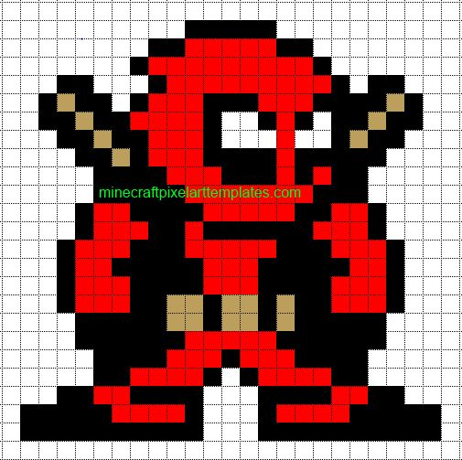 Drawn pixel art deadpool Pixelart ideas on Pinterest Art