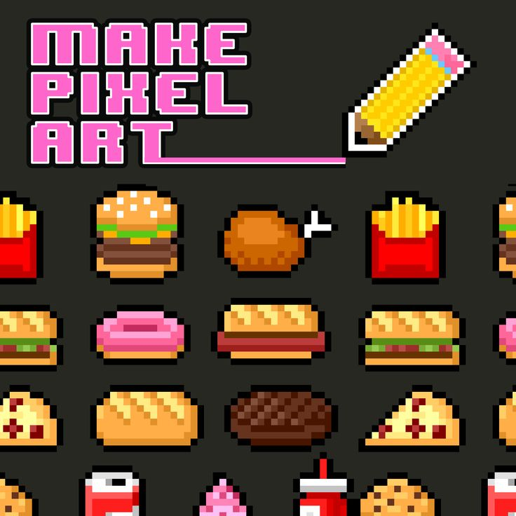 Drawn pixel art doll App! on art maker ideas