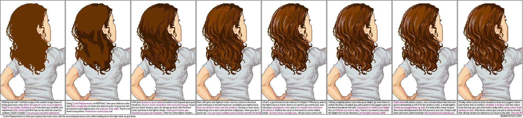 Drawn pixel art doll Silverwind3D by Tutorials Pixel DeviantArt