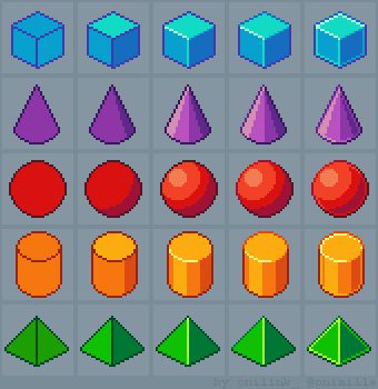 Drawn pixel art easy 20+ more 3d Pin Pixel