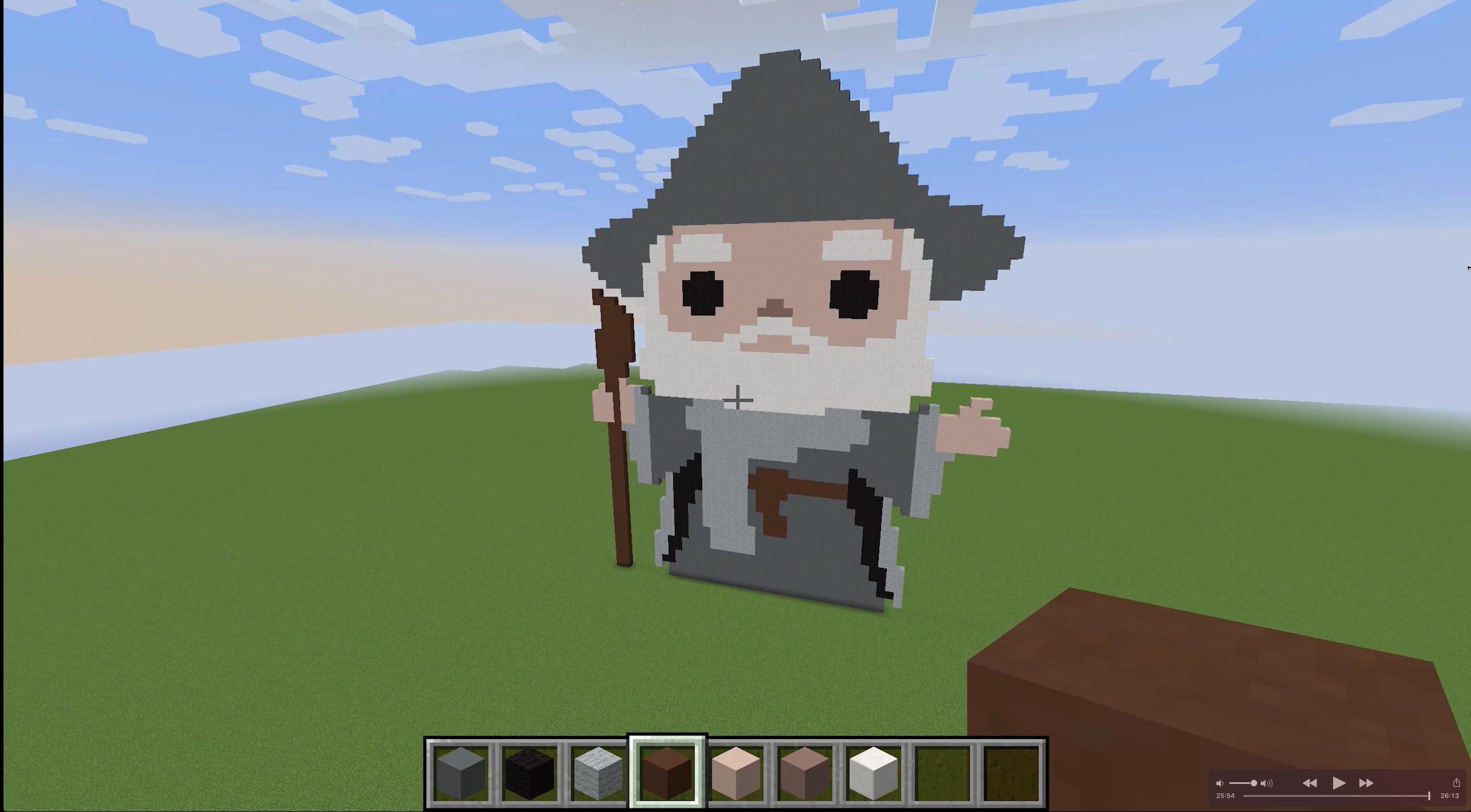 Drawn pixel art energy sword Art Pixel Gandalf Gandalf YouTube
