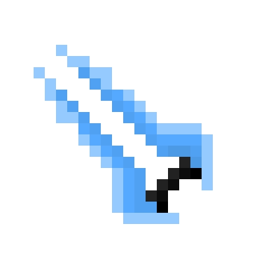 Drawn pixel art energy sword  Sword Energy Request) art