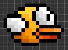 Drawn pixel art flappy bird & best on ArtMinecraft Blueprints