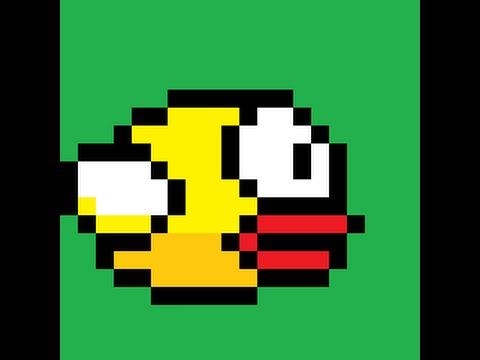 Drawn pixel art flappy bird Bird ▶️1:flappy pixel Tuto YouTube