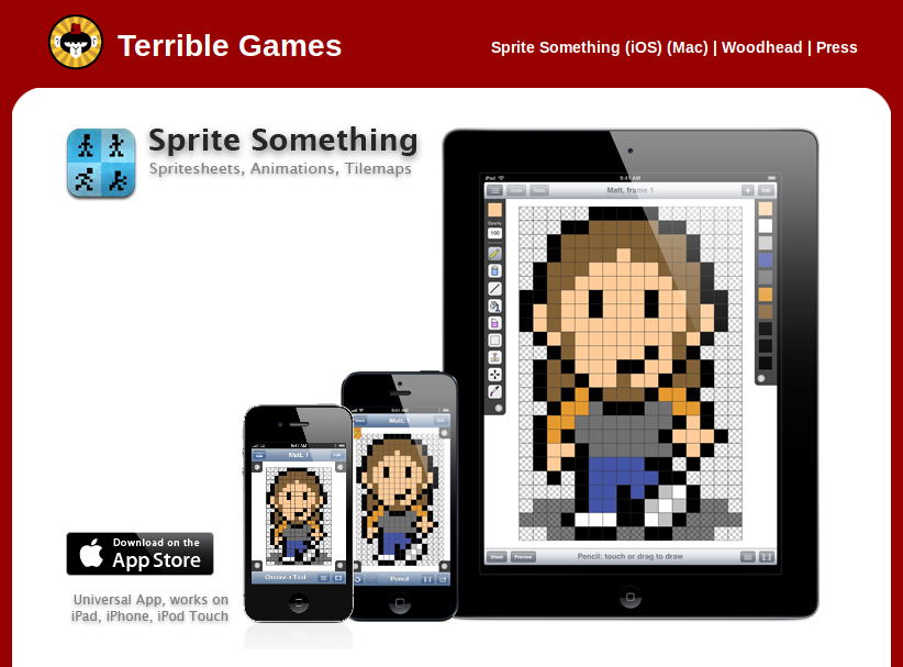 Drawn pixel art game developer And For use drawing Art