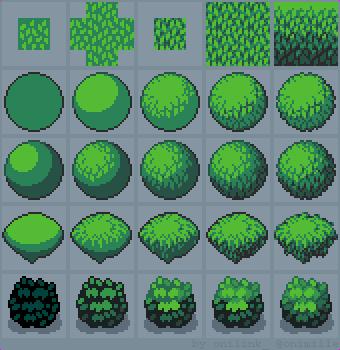Drawn pixel art game developer Gamedev How gamedev arsenixc 431