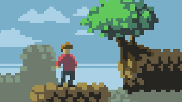 Drawn pixel art game maker Pixel to Udemy for