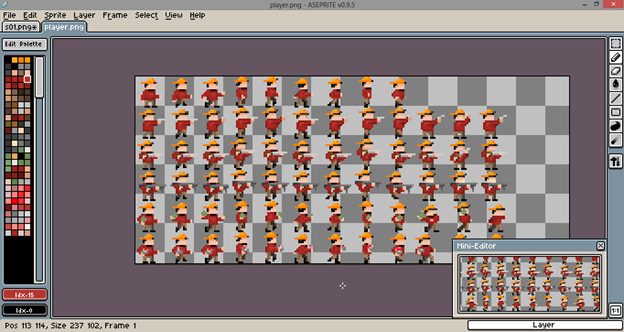 Drawn pixel art game maker Retro Editors 8 Games