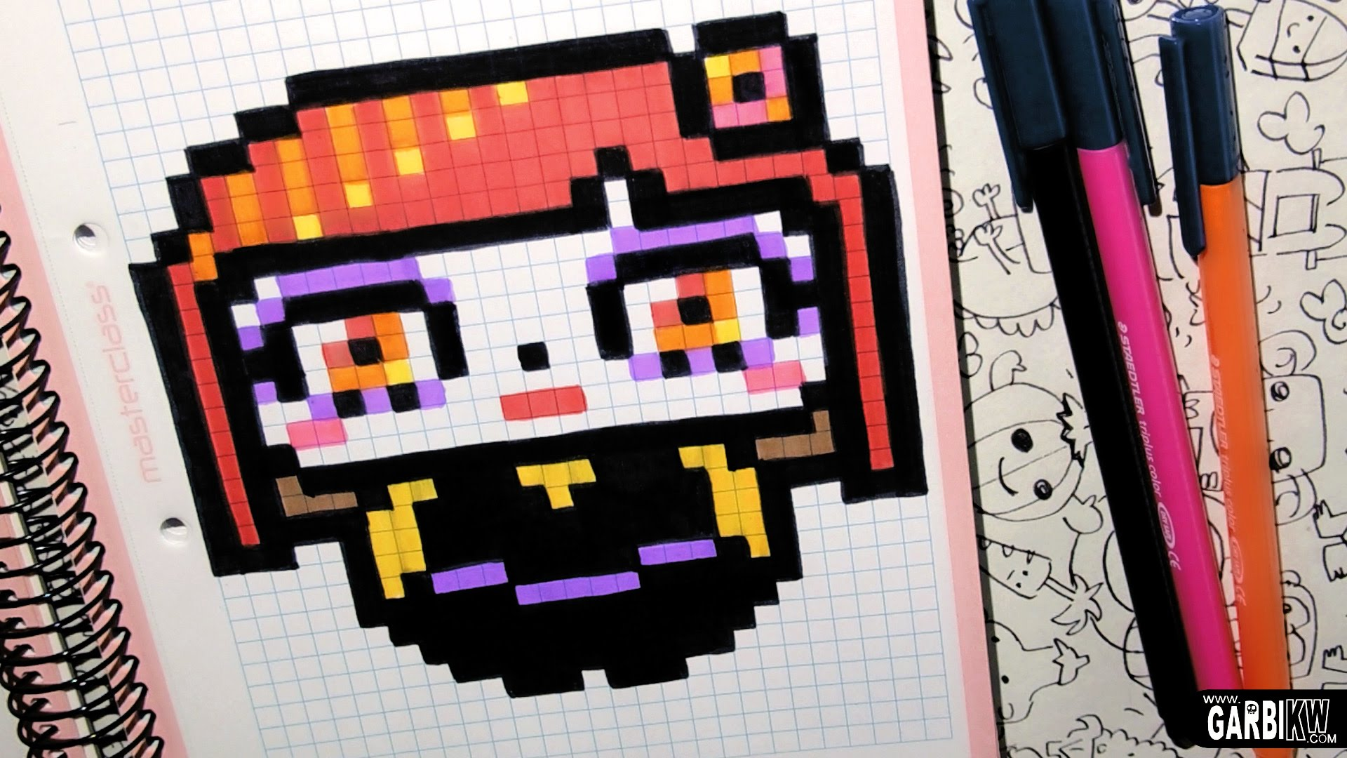 Drawn pixel art garbi kw By Art Skull To Sugar
