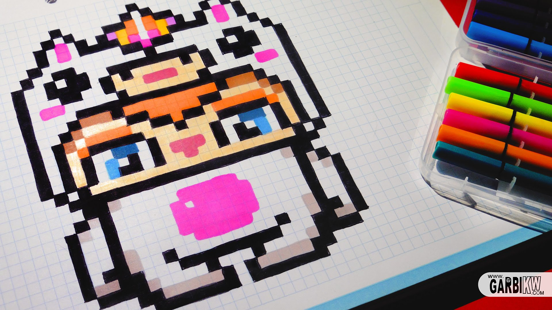 Drawn pixel art garbi kw  Art Garbi Boy by