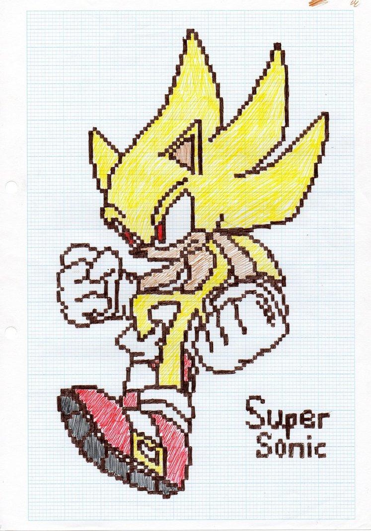 Drawn pixel art graph paper Graph paper It's Super art